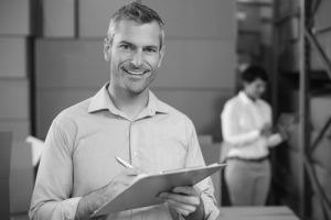 Hiring manager assessing current staffing needs
